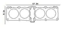 YAMAHA FZ750 FZ 750 CYLINDER BASE GASKET 1AA-11351-00 , 4AM-11351-00