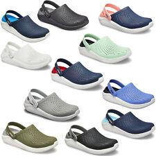 Crocs LiteRide Clogs Unisex Summer Lightweight Padded Slip On Sandals Shoes
