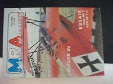**cc Revue MRA Avion n°549 Plan Colibri en 1/2 A - Bipe MK2 -  Didi - l'ASW 22