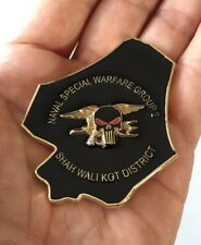 NAVY SEALS SPECIAL WARFARE NSW TEAM 2 WALI KOT FROG CHALLENGE COIN SKULL NO CPO