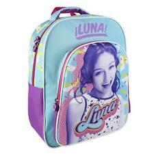 Soy Luna Mochila grande relieve de goma 3D adaptable a carro niña/ Girl Rucksack
