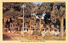1956 Grand View Hotel Mount Dora FL post card