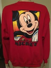 Vintage Mickey Mouse Crewneck Sweatshirt Disney Mickey Unlimited USA Made 2XL