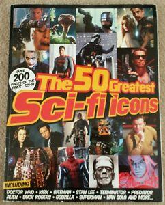 THE 50 GREATEST SCI-FI ICONS MAGAZINE 2013: STAR WARS TREK DOCTOR WHO BATMAN