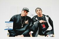 SNOOP DOGG SIGNED 11x14 PHOTO w/ BECKETT COA DR DRE THE CHRONIC ALBUM RAP ICONS