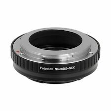 Fotodiox Objektivadapter Nikon RF (S-type) Linse für Sony NEX Kamera