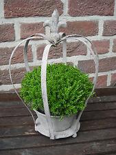 Dekokrone aus Metall im Landhausstil ! Ideal als Geschenk mit Blume o. Teelicht
