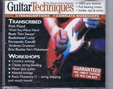 PINK FLOYD / RUSH / RADIOHEAD CD GUITAR TECHNIQUES 72 2002