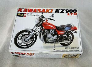 Revell Kawasaki KZ900 LTD 1/12 scale Plastic Model kit H-1520 RARE! Vintage