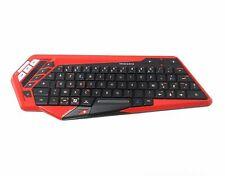 Mad Catz S.T.R.I.K.E.M Bluetooth Gaming Tastatur Keyboard Kompakt Rot FR AZERTY