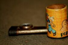 Vintage Popeye Kazoo Pipe, Shows Popeye And Wimpy 1934