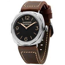 Panerai Radiomir 3 Days Acciaio Steel Manual 47 mm Black Watch PAM00685 Limited