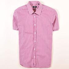Hugo Boss Herren Hemd Shirt Gr.40 (M) Slim Fit  Mehrfarbig, 47142