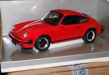 PORSCHE 911 CARRERA 3.2  COUPE 1984  INDIAN RED  PREMIUM CLASSIXXS 10150 1:12