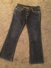 """LADIES LEVI 567 jeans 28"""" x 28"""" size 10"""