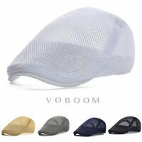 Chapeau de bouvier béguin casquette respirante lierre pour hommes d'été