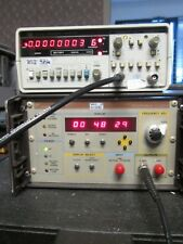Efratom Portable Rubidium Clock TESTED 10MHz  1MHz 1PPS out AC or battery power