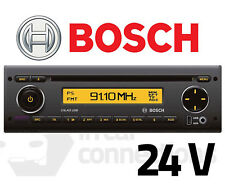 Bosch Calais USB40 multimedia 24v car radio CD USB Aux input MP3 iPod bus lorry