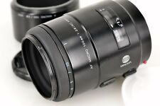 Excellent MINOLTA AF 100mm f/2.8 MACRO NEW with Hood from Japan