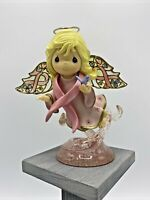 Precious Moments  ~ 2008 ~ Messenger of Promise Figurine ~ Hamilton Collection