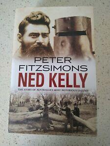 Ned Kelly Biography By Peter Fitzsimons Hardback