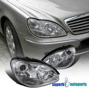 For 2000-2005 Mercedes Benz W220 S-Class S500 S600 S55 Projector Headlights