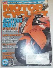 Motor Cyclist Magazine Achtung KTM RC8 & Sumo Supermotos June 2008 020415R