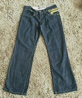 G-Star Raw Women's Core Loose Jeans  W32x L32  UK 14 Low Rise Distressed Blue