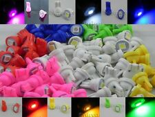 60X T10 5050 1 SMD 168 194 Pink White Blue Red Green Yellow LED Light Bulb A144