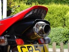 Honda CBR1000RR 2006 2007 Fireblade Acero Escape Ovalada camino legal Moto