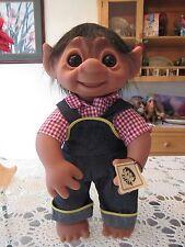 "GIANT HENRY w/ TAG - 17"" Dam Troll Doll - NEW"