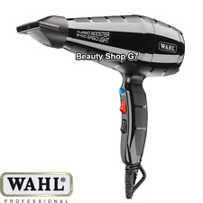 Professional hair dryer Wahl Turbo Booster 3400 Ergolight 2400W *Made in Italy*