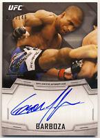 EDSON BARBOZA 2014 TOPPS UFC KNOCKOUT AUTOGRAPH #/149 1ST AUTO FUTURE CHAMPION !
