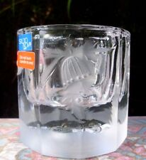"STUDIO NOVA Japan CRYSTAL ""CHRISTMAS BELLS"" Tealight Candle Holder In Australia"
