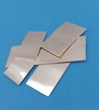 999,9 Silberblech Echt Silber-Blech-Platte Rohling 0,75 mm massiv poliert NEU
