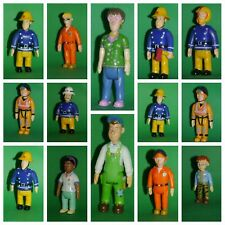 Fireman Sam Movable Figures ~Mike,Elvis,Steele,Tom,Dilys,Norman,Helen,Penny~USED
