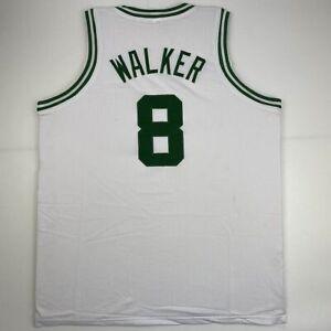 New KEMBA WALKER Boston White Custom Stitched Basketball Jersey Size Men's XL