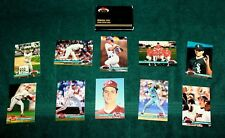 """1991 Topps """"Stadium Club"""" Members Only 10 card set"""