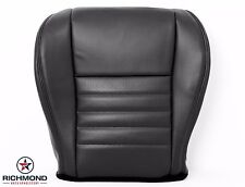 1999 Ford Mustang GT V8 -Driver Side Bottom Replacement Leather Seat Cover Black