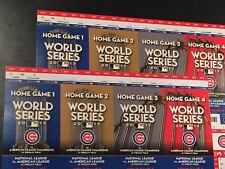 2 Chicago Cubs Tickets Ticket Stubs NLCS home game 1 (game 3) 10/17 Section 106