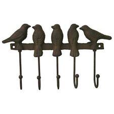 Nettle & Twine Bird Hook Iron Wall Decoration Mounted Coat Rack Home Garden Gift