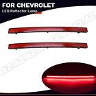 For Chevrolet Corvette C7 2014-2019 Rear Diffuser Reflector LED Light Signal Red  for sale