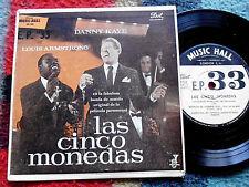 THE FIVE PENNIES Las cinco monedas URUGUAY EP DANNY KAYE LOUIS ARMSTRONG OST HCC