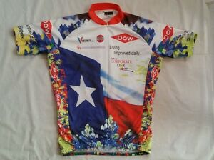 Vomax Cycling Jersey bp ms 150 Houston-Austin-April 16-17 2005 Size (3) M Unisex