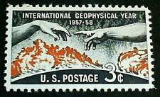U.S. Scott 1107- International Geophysical Year- MNH OG 3c 1958
