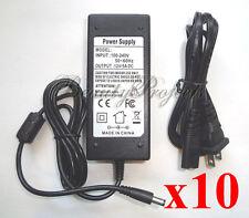 (10pcs) Adattatore per Gelish Harmony 18G Gel Led Lampada Asciugatrice 100-240V Alimentatore