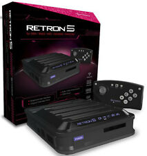 Hyperkin RetroN 5 Retro Video Gaming System Console - Black Brand New Sealed