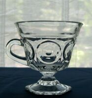 Indiana Glass Clear Lexington Footed 6 ounce Punch Cup
