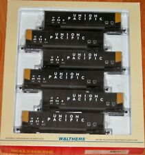 WALTHERS 932-5313 BETHGON 6-PACK UNION PACIFIC # 2 BLACK UP