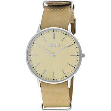 Reloj De Hombre LIU JO Luxury NAVY TLJ967 Piel Genuina Beige Clásico